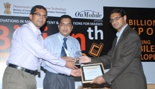 Business Express awarded in m-Billion, India