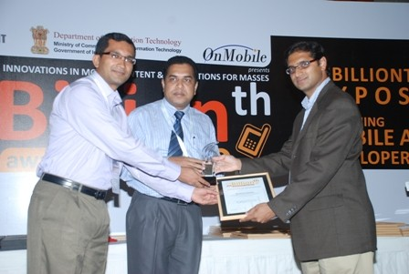 South Asian mBillionth Award 2010