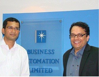 Qliktech official visited Business Automation